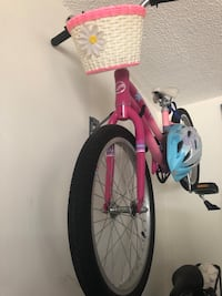 pink and white BMX bike San Diego, 92103