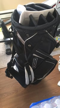 beer branded golf bag