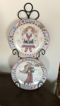 Plates china porcelain (plates are same size )with Ottawa