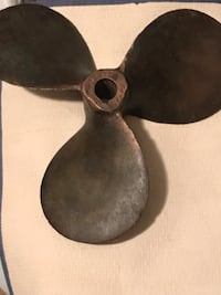 Black boat propellor about 15 lbs Lanham, 20706
