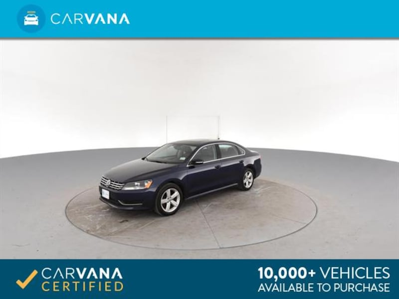 2013 VW Volkswagen Passat sedan TDI SE Sedan 4D Blue <br /> 6