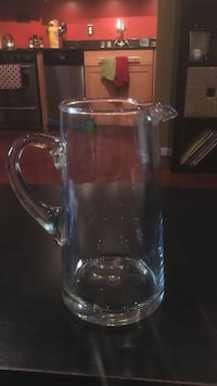 clear glass pitcher Frederick, 21701