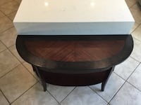 Black and brown wooden table Fontana, 92336