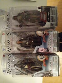 Figurine Assassin's Creed 10$ chaque Laval, H7N 5M5