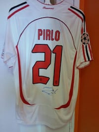 Andrea Pirlo signed AC Milan jersey PROOF