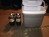 Cooler plus 4 Propane Canisters unopened  Mission Viejo, 92692