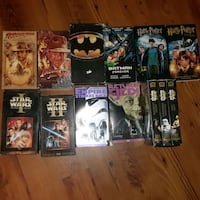 Over 40 vhs w/starwars & Harry Potter  Ladson, 29456