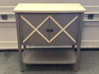 black and gray wooden TV stand Aliso Viejo, 92656