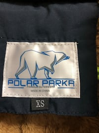Polar parka for ladies- new with tag-size xs-fleece inside Mississauga