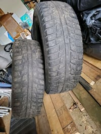 Two, winter tires (MARSHALL)