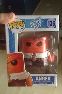 POP Inside out 136 Anger vinyl figure in box Edmonton, T5K