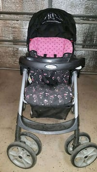 baby's black and pink Graco stroller Fresno, 93721