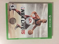 Xbox games (gta 4 & nba live 15)