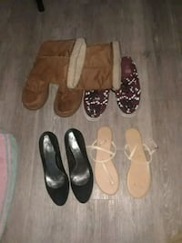 women's four pairs of shoes Sunnyvale, 94085