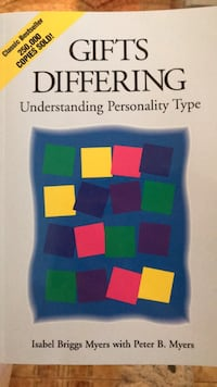 Gifts Differing by Isabel meyers Briggs book