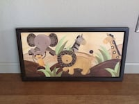 Framed Animal picture. Great for kid or baby bedroom. Westminster, 80234