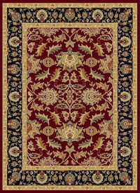 2X3.6 Red Area Rug Sterling