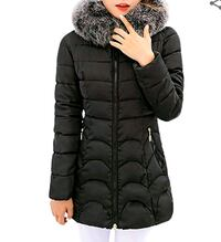 NEW Ladies blk fitted Winter Jacket Richmond, V7E 3H5