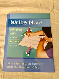 Write Now Publishing With Young Authors Rochester, 02770
