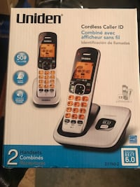 Cordless homephone 2 headsets