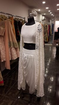 Draped skirt with blouse and jacket runway design  Ludhiana, 141008