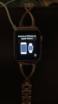 Black smartwatch with black strap Temple Hills, 20748