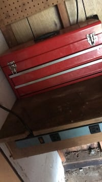 black and red metal tool chest Rohrersville, 21779