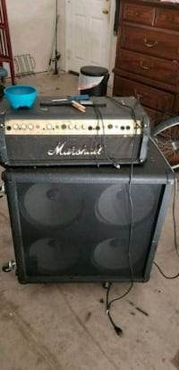 black and gray guitar amplifier San Antonio, 78258