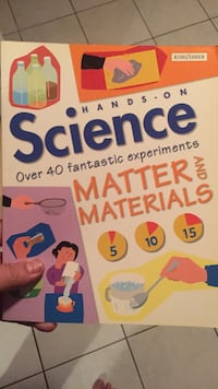 Handson Science Matter and Materials book
