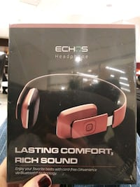 ECHOS new bluetooth headphones in rose gold Brooklyn
