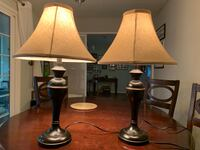 two black and white table lamps San Lorenzo, 94580