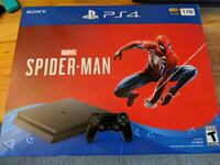 Ps4 slim spiderman 1tb bundle  Silver Spring, 20910