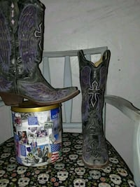 Corral vintage womens boots size 6 hand made in Me 1127 mi