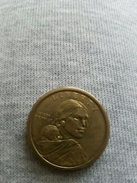 round gold-colored coin Whitby, L1R 3H4