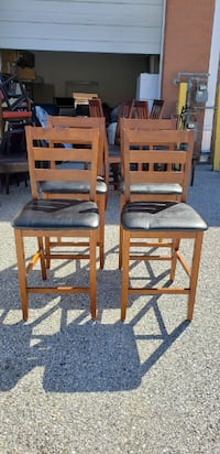 Four Bar Stool Chairs BOWIE