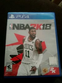 Sony PS4 NBA 2K17 game case Victorville