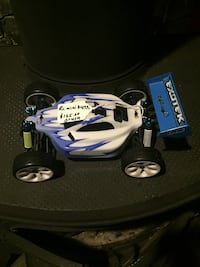white and blue RC toy car Bridgewater, 02324