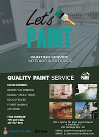 Exterior painting Oak Forest