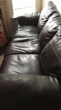 Faux leather sofa still looks good on the outside but seating support is damaged on the inside. South Chesterfield, 23834