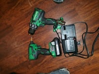 green and black cordless power drill Baton Rouge, 70814