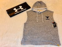 Men's Hoodie Sleeveless - The Rock Line Under Armour - Size: L / NWT Frederick, 21703