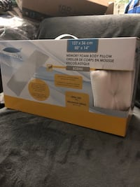 Memory foam body pillow.  Great gift or comfort for your self.  Slide down for more details and pucture Port Moody, V3H 4C6