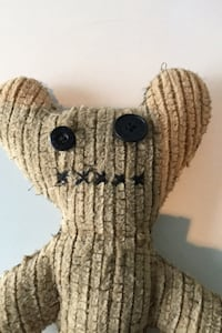 Brand new homemade ugly teddy bear - never been used Toronto, M8V 1A4