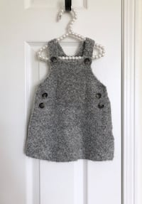 Zara baby girl sherpa dress size 6-9 months- worn only once Mississauga, L5M 0C5