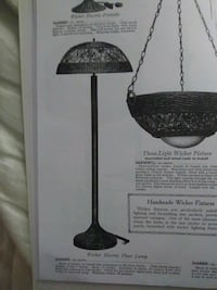 black and gray table lamp Portland, 97266