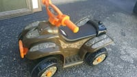 toddler's brown and orange ride-on toy Austin, 78702