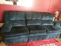 Sectional with 2 recliners  Lathrop