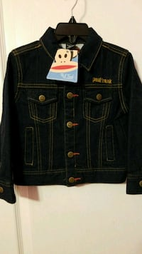 Boys jeans jacket Paul Frank size 3T new with tags Toronto, M1C