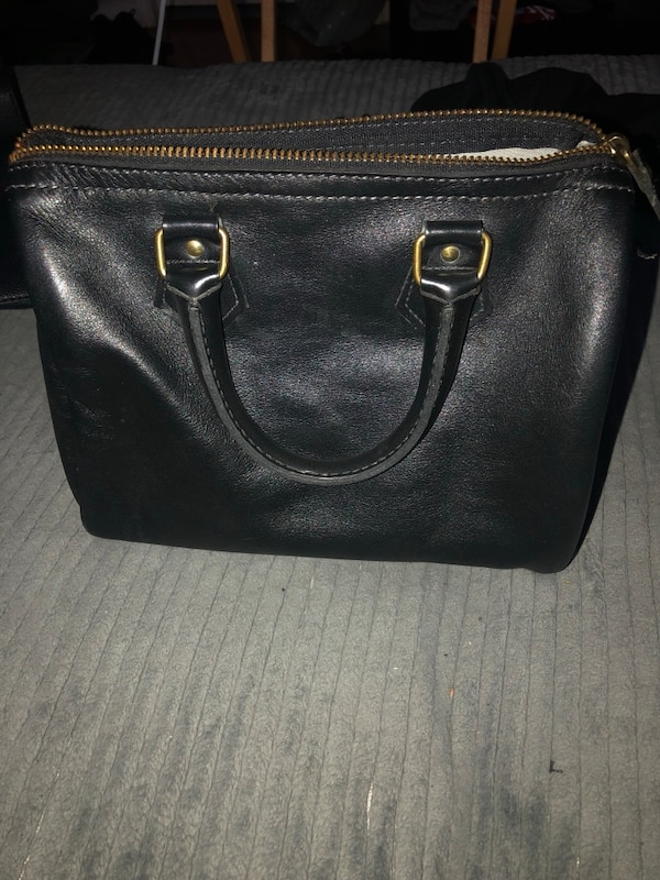 7782542e80e1 Used black leather bowler bag for sale in San Jose - letgo