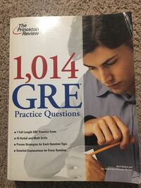 GRE the Princeton review  Fairfax, 22031